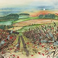 Winter Hedgerow by Lynne Henderson