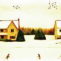 Winter Hockey by Anthony Djordjevic