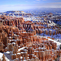 Winter Hoodoos by Dan Myers