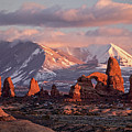 Winter In Arches Np by Wesley Aston