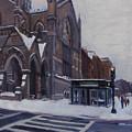 Winter In Boston by Deb Putnam