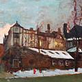 Winter In Buffalo by Ylli Haruni