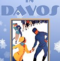 Winter In Davos by Steven Boland