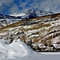 Winter In East Vail by David Salter