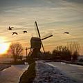 Winter In Holland-2 by Casper Cammeraat