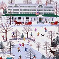 Winter In Jackson New Hampshire by Susan Henke