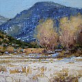 Winter In New Mexico by Spike Ress
