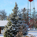 Winter In Pequot Lakes by Stephanie Hanson