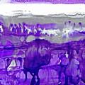 Winter In Purple And Silver by Dana Roper