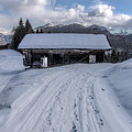 Winter In Sauris Di Sopra 3 by Wolfgang Stocker