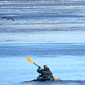 Winter Kayak by Sharon Weiss