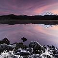 Winter Lake Frost by Billy Soden