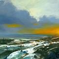 Winter Lake View by Michael Swanson