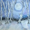 Winter Landscape by Jennie Hallbrown