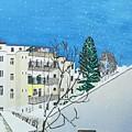 Winter Landscape by Martina Gasp