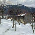 Winter Landscape Near Kutterling by Johann Sperl
