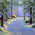 Winter Landscape Study 1 by Frank Wilson