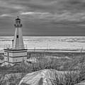 Winter Lighthouse by Joe Ladendorf