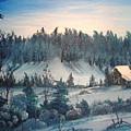 Winter Meadow by Kalib Anglin