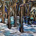 Winter Moon by Katt Yanda