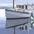 Winter Moorage by Gary Giacomelli