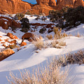 Winter Morning At Arches National Park by Utah Images