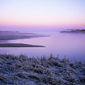 Winter Morning At Siltcoos by Robert Potts