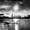 Winter Morning On Schuylkill  by Bill Cannon