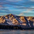 Winter Morning South Lake Tahoe by Mitch Shindelbower