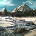 Winter Mountain Stream by Jack Skinner