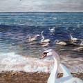 Winter On A Beach In Feodosiya. Crimea by Sergii Grygoriev