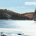 Winter On An Ontario Lake  by Kenneth M  Kirsch