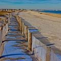 Winter On Duxbury Beach by Amazing Jules