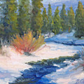 Winter On Gore Creek by Bunny Oliver