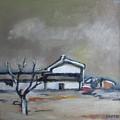 Winter On The Farm by Vesna Antic