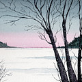 Winter On The Lake by Brenda Owen