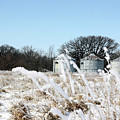 Winter On The Prairie Number 2 by Alan Look