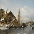 Winter On The Rhine by MotionAge Designs