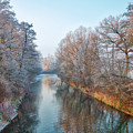 Winter On The River by Hanns-Peter Eisold