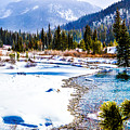 Winter On The River by Jim Schlottman