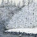 Winter On The River by Sara Stevenson