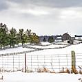 Winter Ontario Farm 3 by Steve Harrington