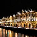 Winter Palace In Sankt Petersburg by Jaroslaw Blaminsky