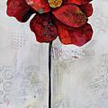 Winter Poppy II by Shadia Derbyshire