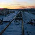 Winter Rails 1 by Steve Ohlsen