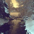 Winter River by Sami Tiainen