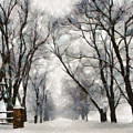 Winter Road by Ronald Bolokofsky