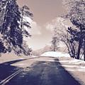 Winter Roads by Joe  Burns