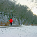 Winter Run by Laurie Prentice