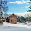 Winter Scene On A Pennsylvania Farm by Bill Cannon
